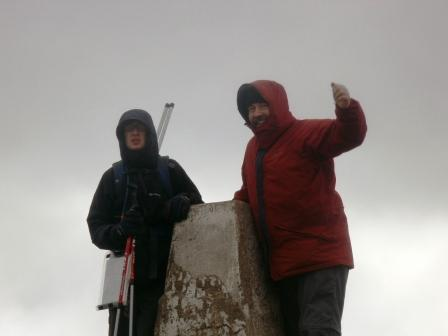 Jimmy & Tom at the summit