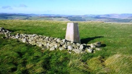 Summit of Sell Moor Hill