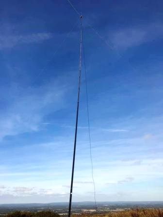 SOTA Pole supporting Bandhopper 4
