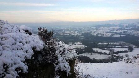 View over the Cheshire Plain
