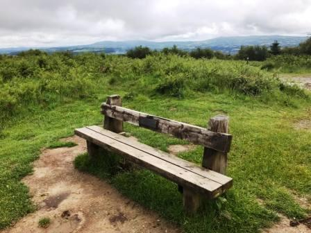 Bench at the summit