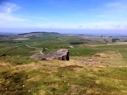 Cracking view from Shining Tor