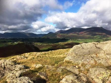 View from High Rigg