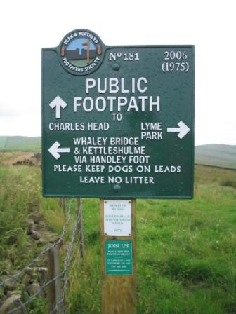 Sign at Bowstonegate