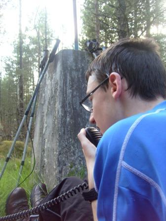 Jimmy on 80m SSB