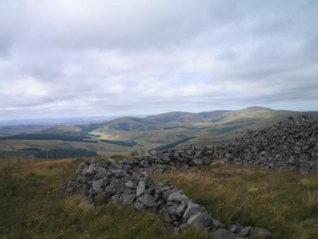 Good views across the Cheviots