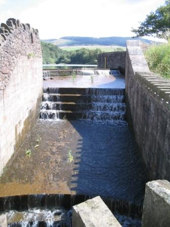 Drain from Teggs Nose Reservoir into Bottoms Reservoir