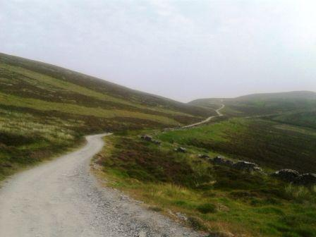 Route to Slieau Freoaghane - a lovely walk