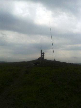 Summit of Slieau Freoaghane