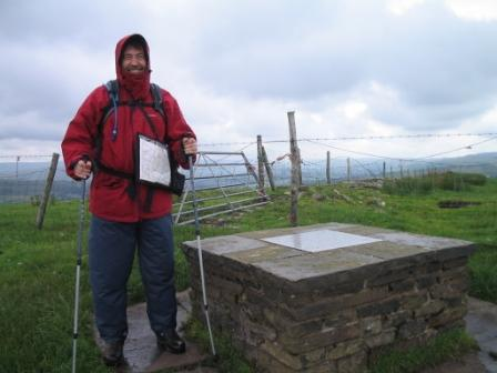 Highest point of Gritstone Trail