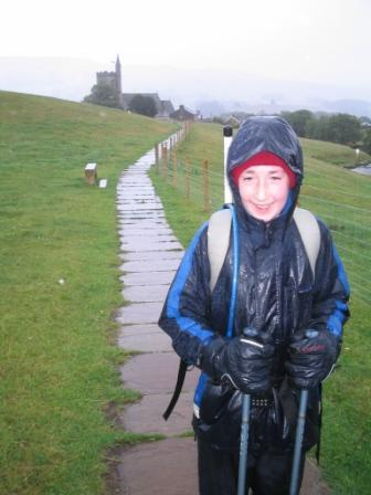 Wet Jimmy nearing Hawes