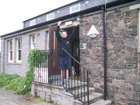 Victory!  - Kirk Yetholm Youth Hostel