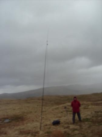 30m dipole in poor weather