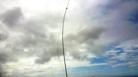 Wind battering the dipole