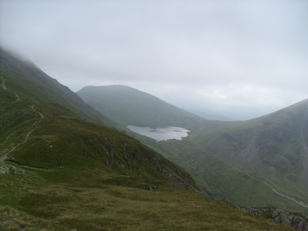 Looking back to Grisedale Tarn and Seat Sandal LD-022
