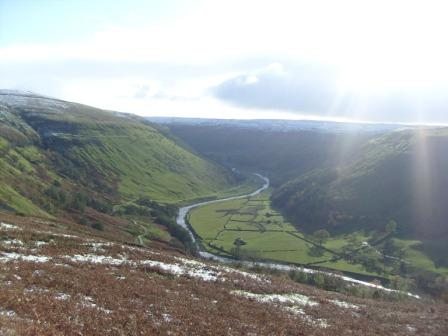 Stunning views down Swaledale