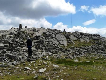 Summit of Moel Siabod