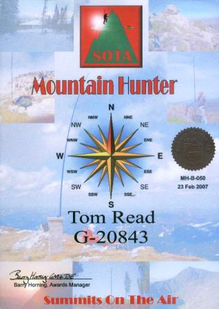 Mountain Hunter SWL (All bands) Bronze