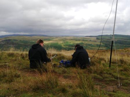 Edward 2W0NSR/P & Jimmy MW0HGY/P sharing the 2m station