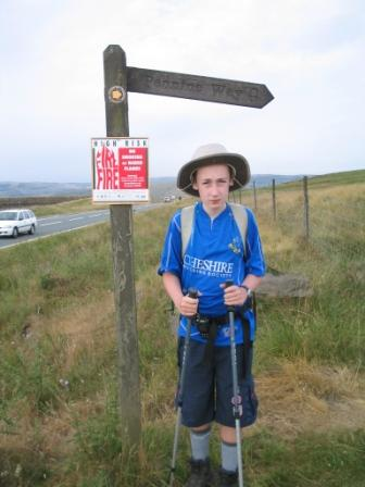 Jimmy ready to begin Day 3 from Standedge