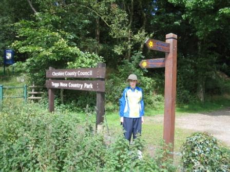 Langley entrance to Teggs Nose Country Park