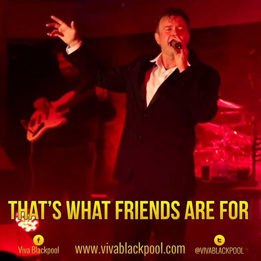 Tom Read with Darren Day, That's What Friends Are For show, Viva Blackpool 2014
