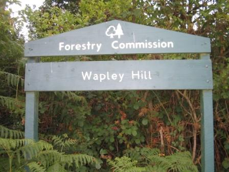 Forestry Commission sign